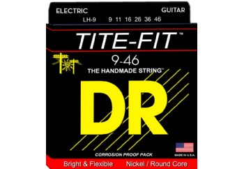 DR Tite-Fit LH-9 Takım Tel - Elektro Gitar teli 009-046