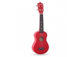 Fzone FZU002 RED - Soprano Ukulele Çantalı