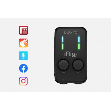 IK Multimedia iRig Pro Duo IO