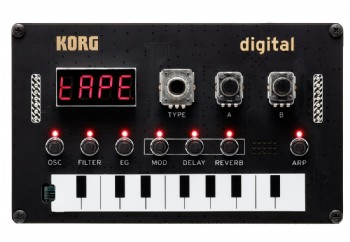 Korg NuTekt NTS-1 Monophonic DIY Synth Kit - Programlanabilir Synthesizer