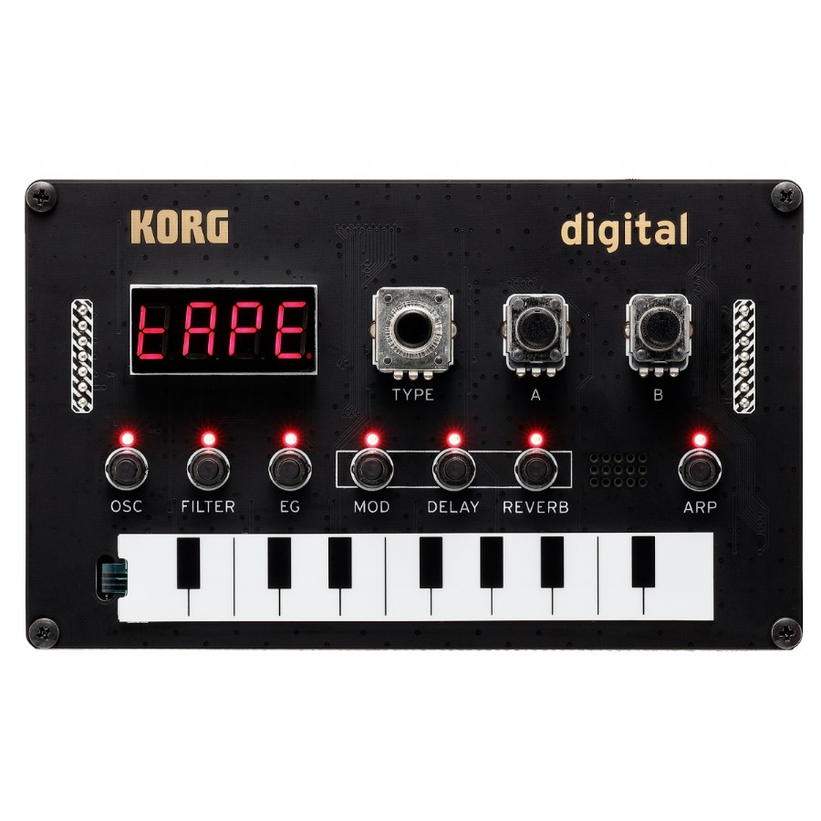 Korg NuTekt NTS-1 Monophonic DIY Synth Kit