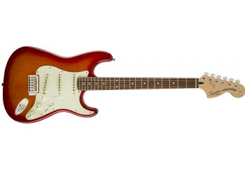 Squier Standard Stratocaster Cherry Sunburst Indian Laurel - Elektro Gitar
