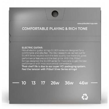 Pitbull Strings Silver Series SEG 10-46 L