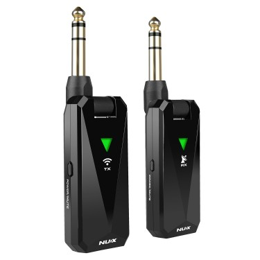 Nux B-5RC 24GHz Passive/Active Instrument Wireless System