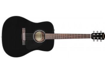 Fender CD-60 Dread V3 DS Black - Fender CD-60 WN NAT
