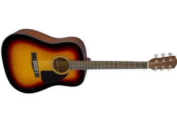 Fender CD-60 Dread V3 DS Sunburst - Fender CD-60 WN NAT