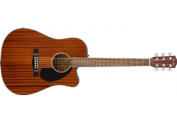 Fender CD-60SCE Dreadnought, All-Mahogany - Elektro Akustik Gitar
