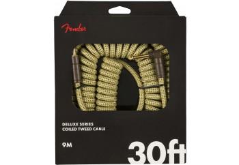 Fender Deluxe Series Coil Cable, Tweed, 30 Tweed - Enstrüman Kablosu (9m)