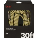 Fender Deluxe Series Coil Cable, Tweed, 30