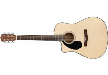 Fender CD-60SCE LH WN NAT - Solak Elektro Akustik Gitar