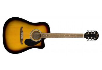 Fender FA-125CE Dreadnought Sunburst - Elektro Akustik Gitar