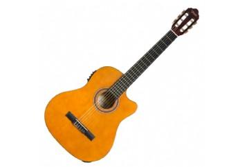 Valencia VC104TCE Naturel - Elektro Klasik Gitar
