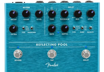 Fender Reflecting Pool - Delay ve Reverb Pedalı