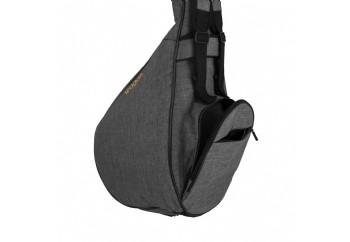 Wagon Case 03 Serisi - Kısa Sap Gri - Kısa Sap Bağlama Çantası