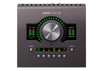 Universal Audio Apollo Twin X Duo - Duo Core DSP işlemcili, 2 x 6, 2 mikrofon preamp Thunderbolt 3 ses kartı