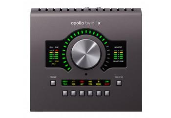 Universal Audio Apollo Twin X Quad - Quad Core DSP işlemcili, 2 x 6, 2 mikrofon preamp Thunderbolt 3 ses kartı
