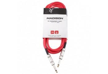 Madison MIC002-3M Kırmızı - Entrüman Kablosu (3 Metre)