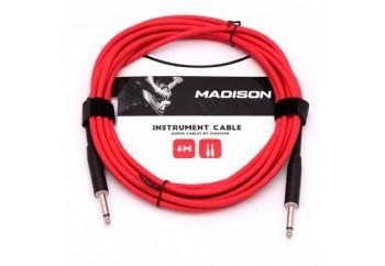 Madison MIC002-6M Kırmızı - Entrüman Kablosu (6 Metre)