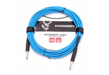 Madison MIC002-6M Mavi - Entrüman Kablosu (6 Metre)