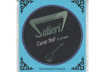 Salieri 0.16 mm Paslanmaz Cura Takım tel - Cura Teli 016