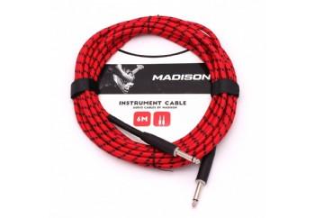 Madison MIC030-6M RBK - Enstrüman Kablosu (6 Metre)