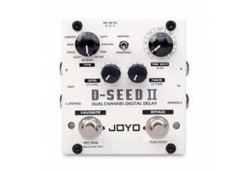 Joyo D-Seed II Dual Channel Digital Delay - Delay & Looper Pedalı