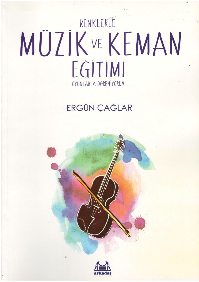 renklerle muzik ve keman egitimi kitap ergun caglar