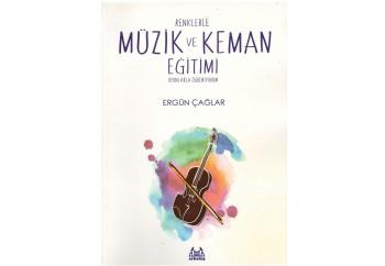 Renklerle Müzik ve Keman Eğitimi Kitap - Ergün Çağlar