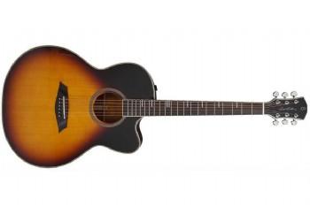 Sire Larry Carlton A4GS Cutaway Vintage Sunburst - Elektro Akustik Gitar