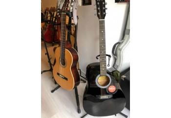 Squier SA-105CE Dreadnought Cutaway - Fırsat Reyonu Black - Elektro Akustik Gitar