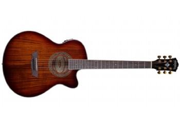 Washburn EA55G Festiva Koa Burst - Elektro Akustik Gitar