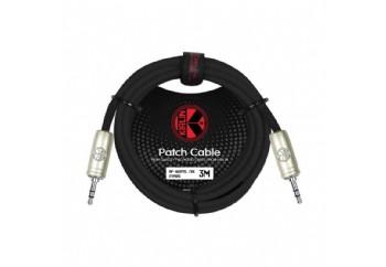 KIRLIN AP-468PRL-3MBK - TRS Kablo 3,5mm TRS - 3,5mm TRS ( 3 metre)