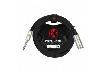KIRLIN MP-481PR-3MBK - Mikrofon-Enstrüman Kablosu (3 metre)