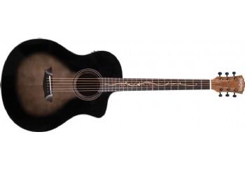 Washburn BTS9VCECH Bella Tono Vite S9V Gloss Charcoal Burst - Elektro Akustik Gitar
