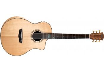 Washburn BTSC56SCE Bella Tono Allure SC56S Gloss Natural - Akustik Gitar