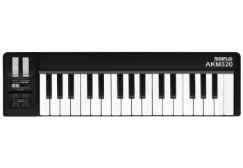 Midiplus AKM320 Black - MIDI Klavye - 32 Tuş