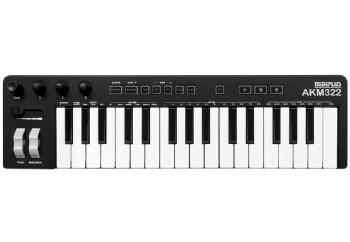 Midiplus AKM322 Black - MIDI Klavye - 32 Tuş