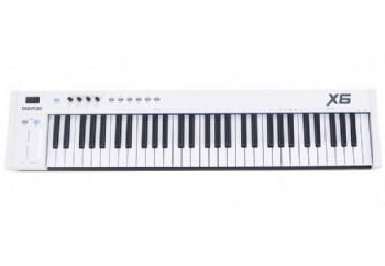 Midiplus X6 II - MIDI Klavye - 61 Tuş