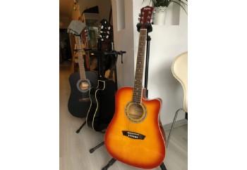 Washburn WA90CE - Fırsat Reyonu Tobacco Sunbusrt - Elektro Akustik Gitar