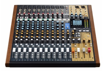 Tascam Model 16 Mixer Analogue Mixer With 16-Track Digital Recorder - Mikser & Ses Kartı & Kayıt Cihazı