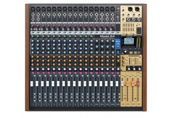 Tascam Model 24 Analogue Mixer With 24-Track Digital Recorder - Mikser & Ses Kartı & Kayıt Cihazı