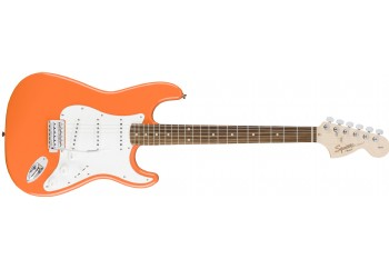 Squier Affinity Strat Competition Orange - Indian Laurel - Elektro Gitar