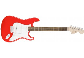 Squier Affinity Strat Race Red - Indian Laurel - Elektro Gitar