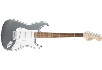 Squier Affinity Strat Slick Silver - Indian Laurel - Elektro Gitar