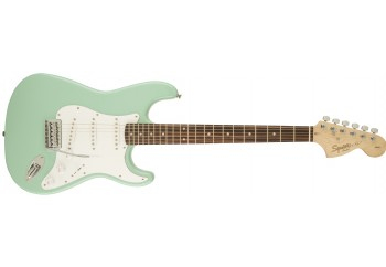 Squier Affinity Strat Surf Green - Indian Laurel - Elektro Gitar