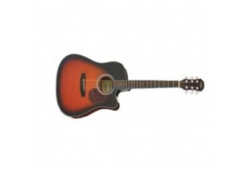 Aria ADW01CE Cutaway BS - Elektro Akustik Gitar