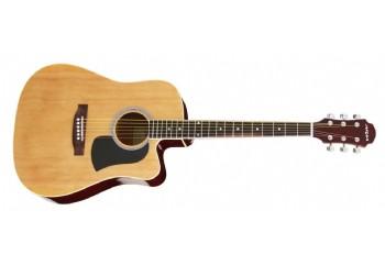 Aria AWN15CE Cutaway Natural - Elektro Akustik Gitar