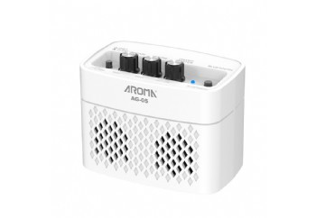 Aroma AG05 White - Bluetooth Gitar Amfisi