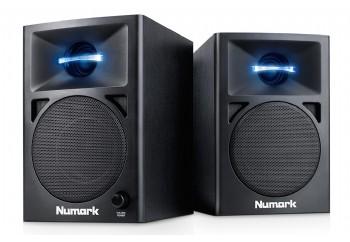 Numark NWAVE 360 - Aktif Masaüstü DJ hoparlörü (Çift)