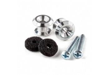 Jim Dunlop 7102 Strap Button Set - Askı Pin Seti